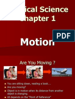 motion coordinates and acceleration