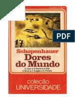 As Dores Do Mundo - Arthur Schopenhauer