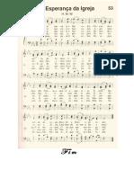 Harpa Crista 53 Esperanca Da Igreja