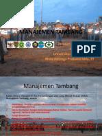 Manajemen Tambang Materi 2