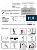 Nomadic Display Instand Instructions