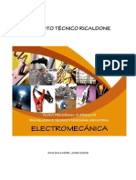 Plan de Estudios de Electromecanica