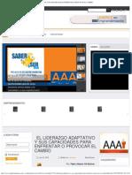 Aaa Plus Magazine - El Liderazgo Adaptativo y Sus Capacidades Para Enfrentar