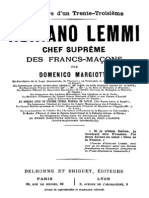 Adriano Lemmi Chef Supreme Des Francs-macons