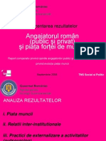 Angajatorul Roman si Piata Fortei de Munca