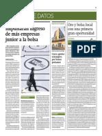 Impulsarán Ingreso de Más Empresas Junior a La Bolsa_Gestión 24-06-2014