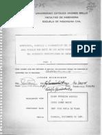 ESTRUCTURA, MAGNITUD Y DISTRIBUCION DEL CONSUMO  DE AGUA POTABLE POR PARTE DE LOS ALTOS COl'1SUNIDORES DEL ACUEDUCTO METROPOLITANO DE CARACAS año 1984