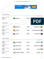 The matches of the 2014 FIFA World Cup Brazil™ - FIFA