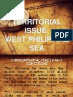 Territorial Issue-West Philippine Sea