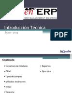 Openerp - Introduccion Técnica