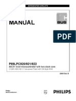 P89LPC922 User Manual