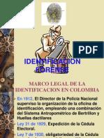 Marco Legal de La Identificacion en Colombia