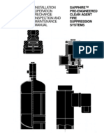 SAPPHIRE™ Pre-Engineered Clean-Agent Manual (PN570527)