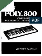 Korg Poly 800