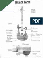 Roland G-202 Service Notes