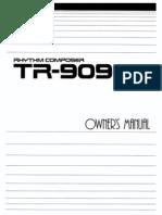 Roland TR-909 OM