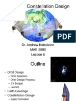 Satellite Orbit and Constellation Design
