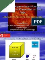 Photovoltaic Solar Cells Presentation