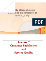 7 - Customer Satisfaction and Service Quality