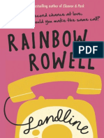 Landline by Rainbow Rowell Extract