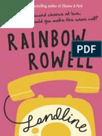 Landline by Rainbow Rowell Extract