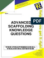 Scaffold Advancedquestionsnanswers