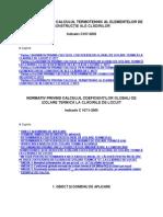Calcul Termotehnic C107-2005