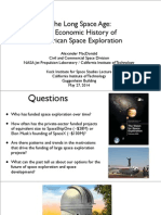 The Long Space Age an Economic History of American Space Exploration