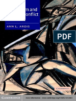 Ann L. Ardis Modernism and Cultural Conflict, 1880-1922 2003
