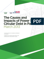 Final_USAID-Pakistan Circular Debt Report-Printed Mar 25, 2013