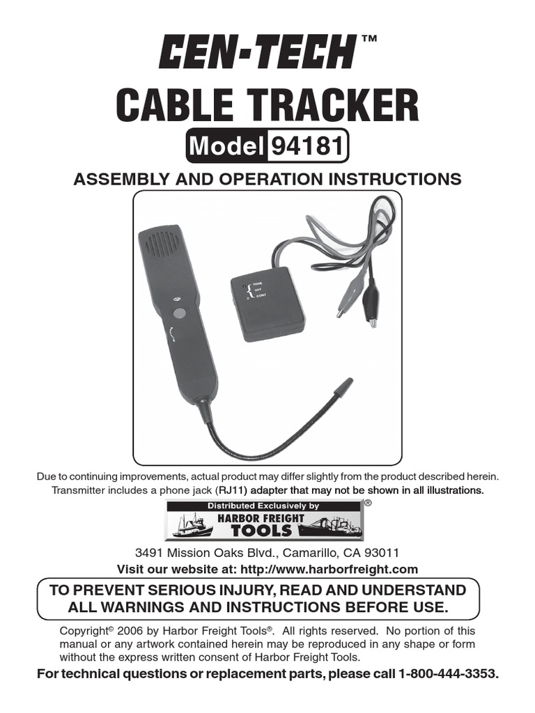harbor freight cable tracker electrical connector telephone Telephone Punch Down Diagram