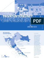Kroatien - Privatunterkunft, Preise 2009