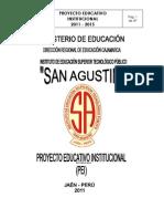Pei 2011-2015 Reformulado San Agustin 07-11-11