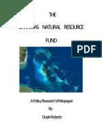 The Bahamas Natural Resource Fund (1)