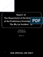 Report of the Department of the Army Review of the Preliminary Investigations Into the My Lai Incident-V2-Testimony