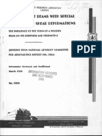 FPL - Deflection of Beams With Special References to Shear Deformations