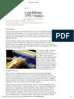 Asset Quality PSU Banks