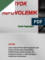 Slide Syok Hipovolemik
