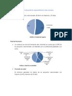 Estadísticas Relevantes Del Perfil de Emprendedores Seleccionados