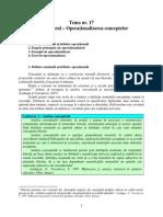 Operationalizarea conceptelor