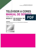 MANUAL DE SERVICIOTV LG CHASIS SC-023A MODELO