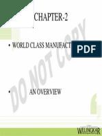 world class manufacturing, Lean guide