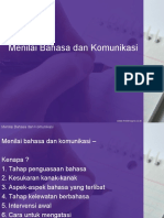 Menilai Bahasa Dan Komunikasi