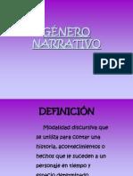 género narrativo 1°