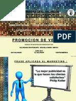 Presentacion de Proocion de Ventas
