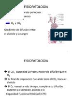 Fisiopatología de Insuficiencia Respiratoria