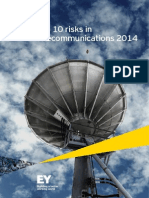 EY Top 10 Risks in Telecommunications 2014