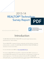 2013-14 REALTOR® Technology Survey