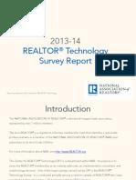 2013-14 REALTOR® Technology Survey