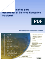Plan Educativo Nacional